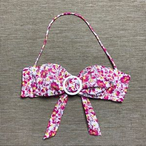 Victoria's Secret Bikini Top Floral Small S